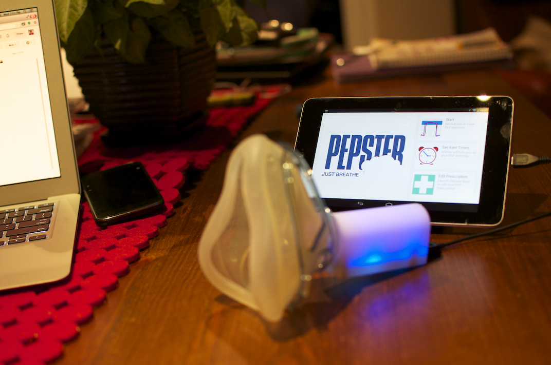 New Student-Developed Cystic Fibrosis App Makes Breathing Therapy a Game