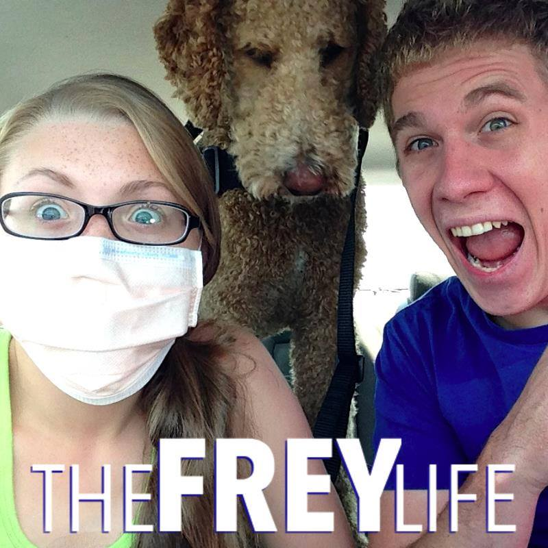 The Frey Life: Vlogging And Coping With CF Together